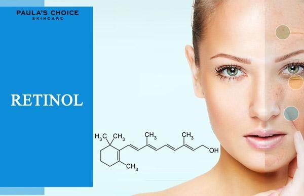 retinol trong trẻ hoá da